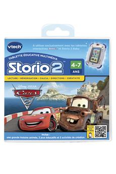 Jeux et accessoires pour tablette enfant JEU STORIO 2 CARS2 Vtech