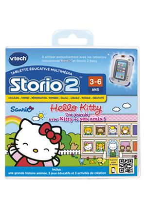 jeux et accessoires pour tablette enfant vtech jeu storio 2 hello kitty darty. Black Bedroom Furniture Sets. Home Design Ideas