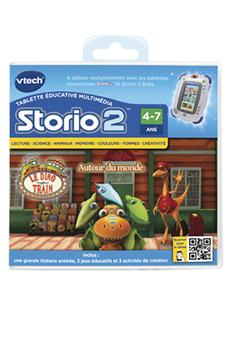 Jeux et accessoires pour tablette enfant JEU STORIO 2 LE DINO TRAIN Vtech