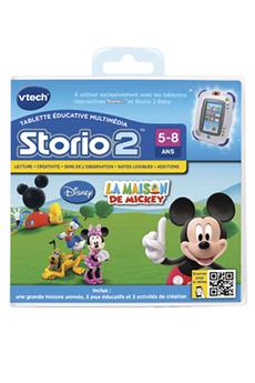 Jeux et accessoires pour tablette enfant Vtech JEU STORIO 2 MAISON MICKEY