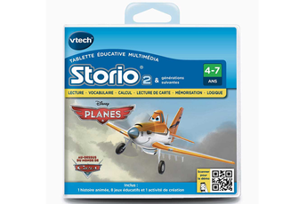 Jeux et accessoires pour tablette enfant Vtech JEU STORIO 2 PLANES