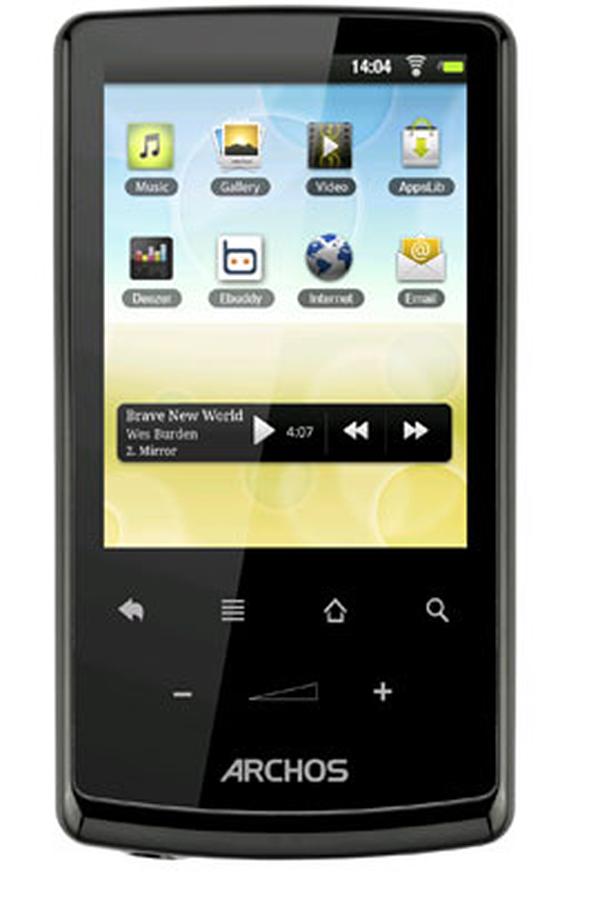 lecteur audio vid o mp3 mp4 archos 28 internet tablet 4 go. Black Bedroom Furniture Sets. Home Design Ideas