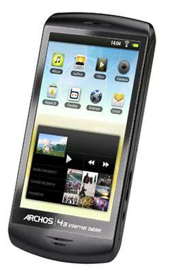 Archos 43 Internet Tablet 16 Go