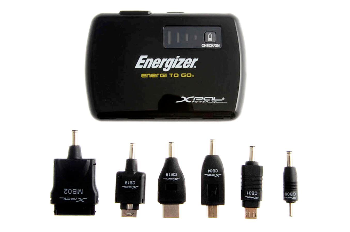 chargeur portable energizer batterie de secours xp2000. Black Bedroom Furniture Sets. Home Design Ideas