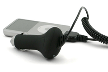 Chargeur pour iPhone Chargeur allume-cigare iPhone/iPod Muvit