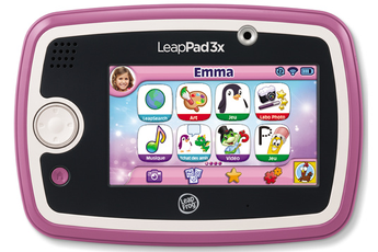 Tablette Tactile Enfant LEAPPAD 3X ROSE Leapfrog
