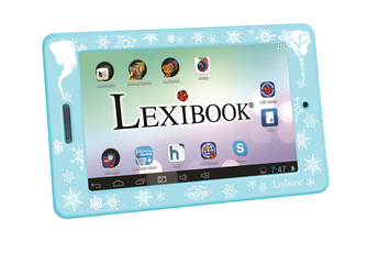 Tablette Tactile Enfant MFC175FRW + COQUE LA REINE DES NEIGES Lexibook.