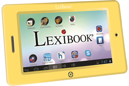 tablette tactile enfant lexibook mfc175frx coque minions mfc175frx darty. Black Bedroom Furniture Sets. Home Design Ideas