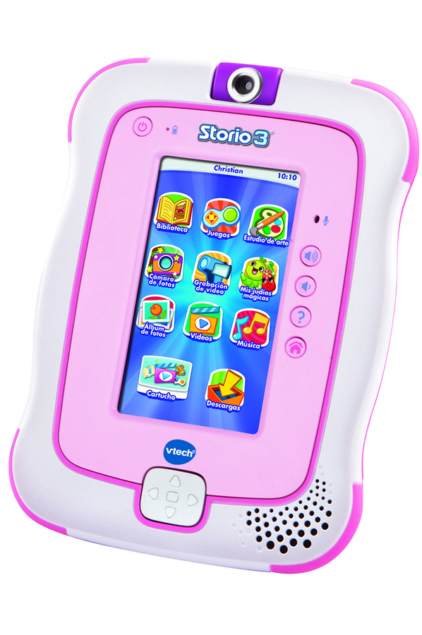 Tablette tactile enfant vtech storio 3 rose 4051947 darty for Tablette tactile cuisine