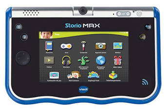 "Tablette Tactile Enfant STORIO MAX 5"" BLEUE Vtech"