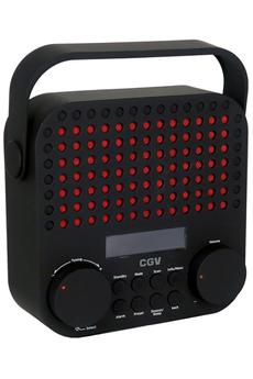 Radio Cgv DR15+ NOIR