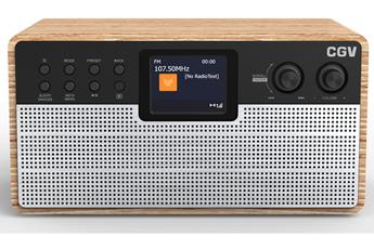 Radio Cgv Radio Internet/ DAB+/ FM et Bluetooth