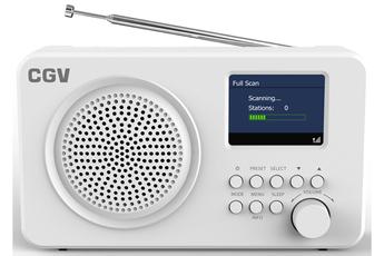 Radio Cgv DR6+ BLANCHE