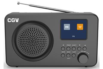 Radio Cgv DR6+ NOIRE