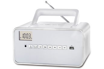 Radio Dcybel BOOM BOX BT WHITE