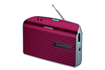 Radio MUSIC60L-RE rouge Grundig