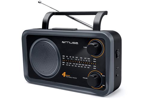 Tuner FM/MW/LW/SW Haut parleur de 7,6 cm Prise casque - Entrée auxiliaire 3,5 mm Poignée de transport