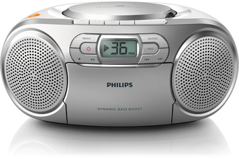 Radio Philips Radio K7 CD tuner FM