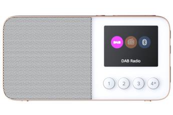 Radio Pure MOVE T4 WHITE