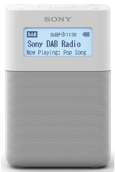 Radio Sony XDR-V20D BLANC
