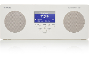 Radio MUSIC SYSTEM THREE+ BLANC Tivoli