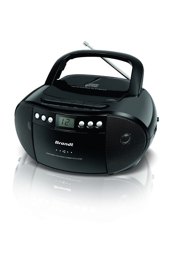 radio cd radio k7 cd brandt bcd300k7 1395220 darty. Black Bedroom Furniture Sets. Home Design Ideas