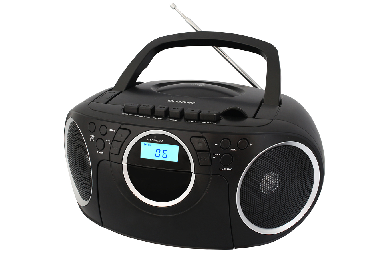 radio cd radio k7 cd brandt bcd350k7 4122070 darty. Black Bedroom Furniture Sets. Home Design Ideas