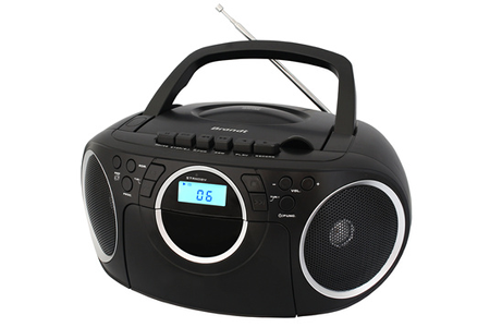radio cd radio k7 cd brandt bcd350k7 darty. Black Bedroom Furniture Sets. Home Design Ideas