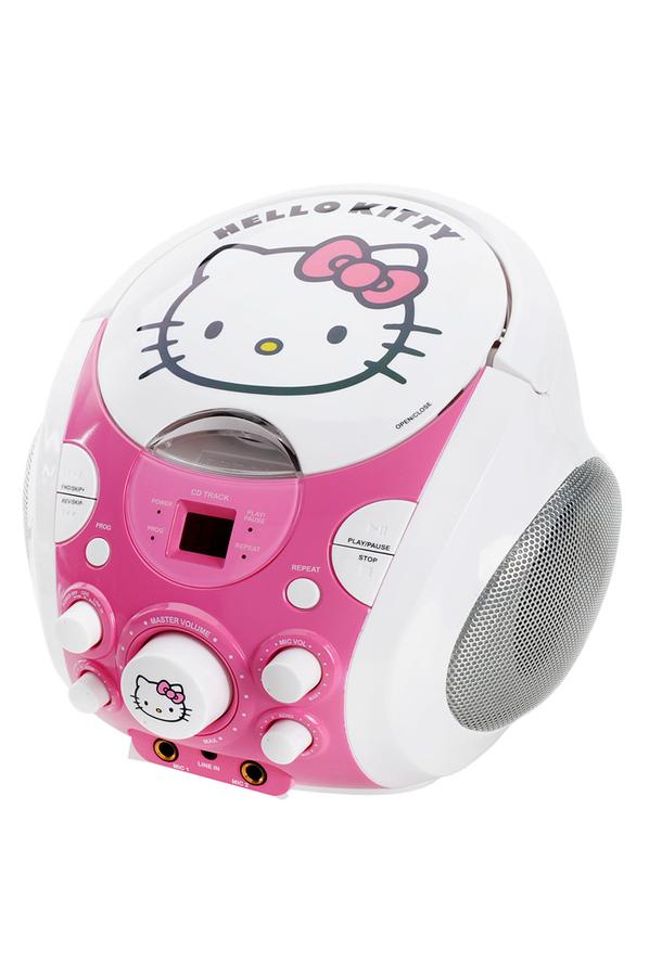 radio cd radio k7 cd hello kitty karaoke 1365096 darty. Black Bedroom Furniture Sets. Home Design Ideas