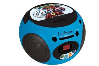 Radio CD / Radio K7-CD RCD102AV AVENGERS Lexibook.