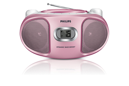 radio cd radio k7 cd philips az105c 12 darty. Black Bedroom Furniture Sets. Home Design Ideas