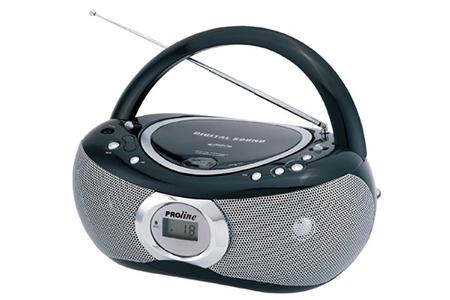 radio cd radio k7 cd proline nc170mp3 darty. Black Bedroom Furniture Sets. Home Design Ideas