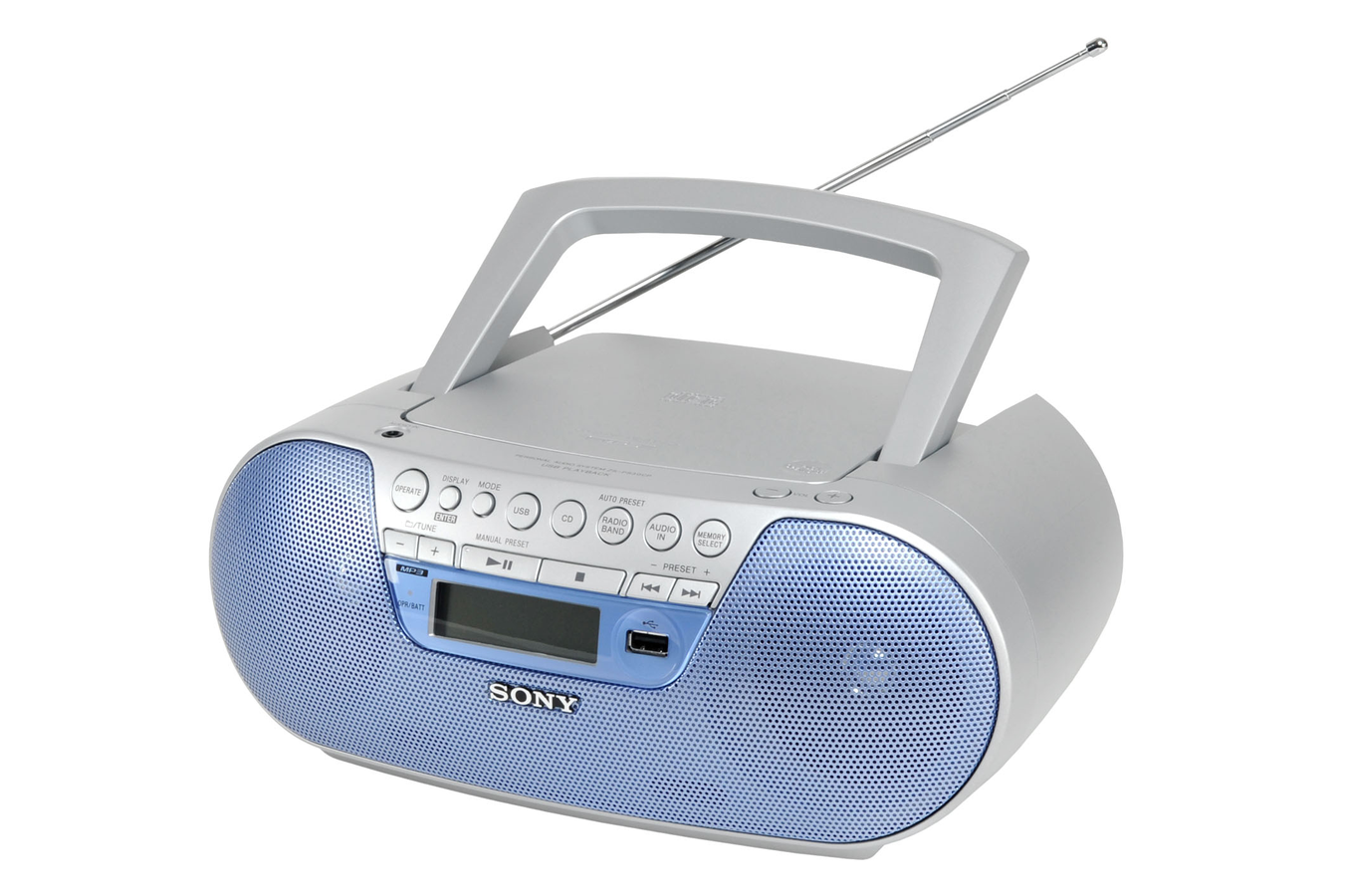 radio cd radio k7 cd sony zs ps30cpl zsps30cpl ced 3696995 darty. Black Bedroom Furniture Sets. Home Design Ideas