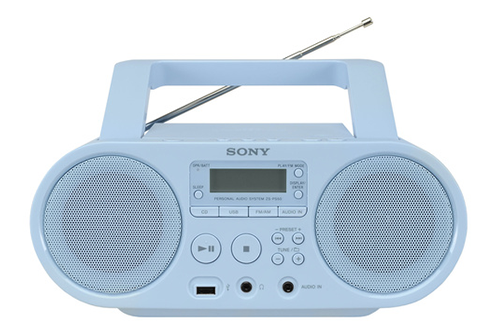 radio cd radio k7 cd sony zs ps50l bleu 4101529. Black Bedroom Furniture Sets. Home Design Ideas