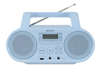 Radio CD / Radio K7-CD ZS-PS50L BLEU Sony