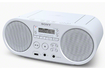Radio CD / Radio K7-CD ZS-PS50W BLANC Sony