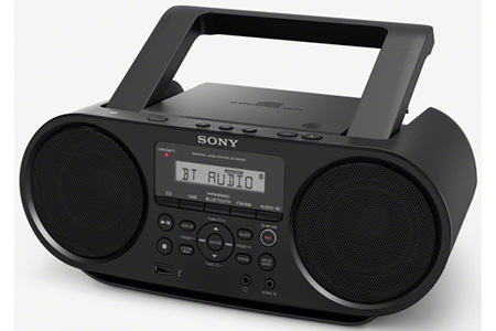 radio cd radio k7 cd sony zs rs60bt darty. Black Bedroom Furniture Sets. Home Design Ideas