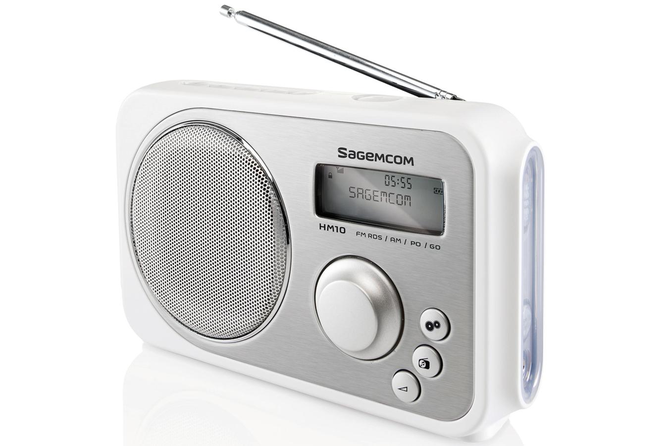 Radio sagemcom hm10 3392520 darty for Radio de cuisine