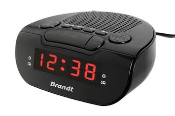 Radio-réveil BCR173 Noir Brandt