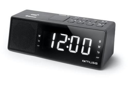 Tuner FM Double alarme 20 présélections Répétition de l'alarme