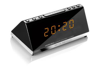 Radio-réveil MORNING V2 NOIR Naf-naf
