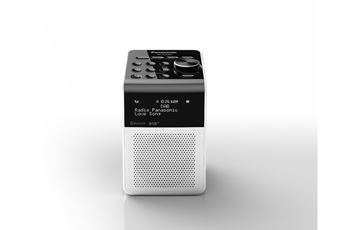 Radio-réveil Panasonic Radio Réveil DAB RF-D20BTEG-W