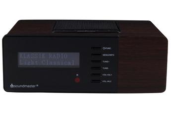 Radio-réveil Soundmaster UR180 FM DAB OAK