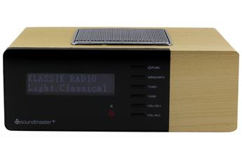 Radio-réveil Soundmaster UR180 FM DAB WALNUT
