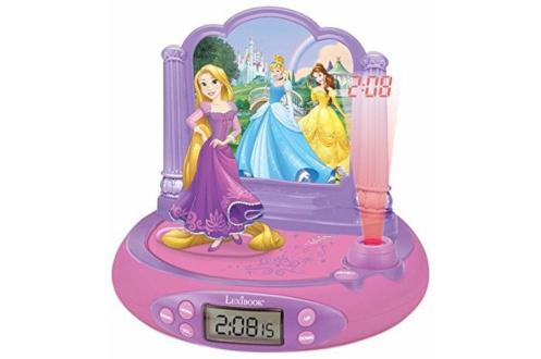 Radio Reveil projecteur Disney Princesse