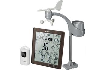 Station météo Bresser Station météo ClimaTemp finition effet bois large écran - 7002420