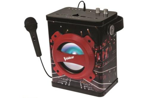 Enceinte Bluetooth Karaoké The Voice