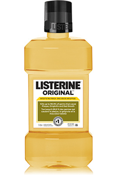 Solution dentaire BAIN DE BOUCHE ORIGINAL Listerine