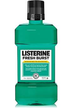 Solution dentaire FRESH BURST Listerine