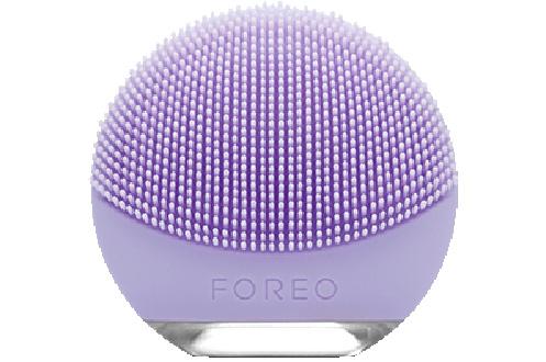 Mini brosse nettoyante silicone pour le visage Rechargeable - 100% étanche Technologie T-Sonic - 8000 pulsations/minutes Mode Anti-âge - Pour les peaux sensibles